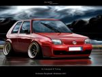 Vw Golf II by Bobiman