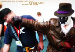 Rorschach - Comic-con 2009 II by williamshade