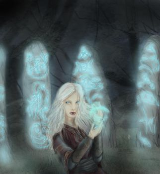 Forest Ruins by Cheyanne-Author
