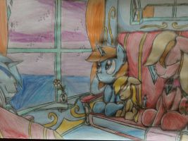 MLP: Paladin's Dream on the Train by Paladin360