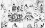 MERRICK THE SENSATIONAL ELEPHANTMAN #3 Pencils by future-parker
