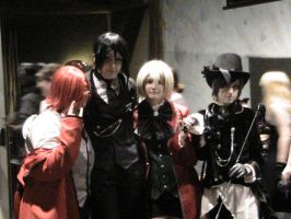 Black Butler Group Cosplay by Zombie-Necromancer23