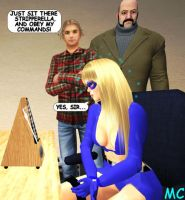 Stripperella Hypnotized By The Metronome by The-Mind-Controller