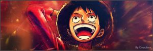 Luffy Signature by Crocbox