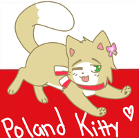 Poland Kitty by moonbear12