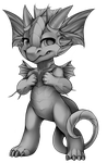Fin Dragon by Spookie-Sweets