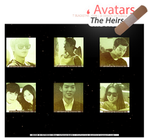 The Heirs (icons) #4 - Size 131 x by victoricaDES