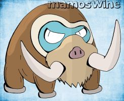 Mamoswine (With Color) by RCKNP
