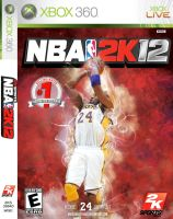 Kobe Bryant NBA 2k12 Cover by Angelmaker666