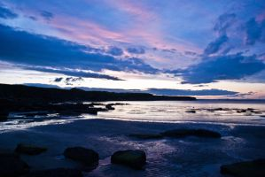 Whitley  Bay Sunset 2 by svendo