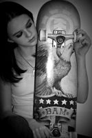 Skater Girl by BamBamBaby8