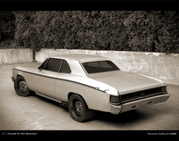 3D - Chevelle SS 1967 by AlexandreGuilbeault