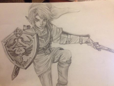 Link - Legend of Zelda by BlazingElysium