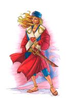 Pirate Supergirl - Copics by ChrisShields