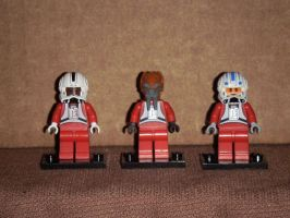 Lego Rebel Pilots 2 by BrigadierDarman