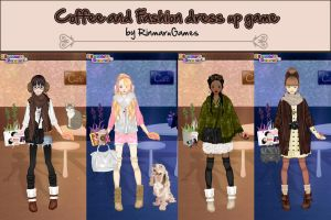 Coffee and fashion dress up game by Rinmaru