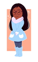 [SU] Winter Connie by toastyfoxtails