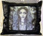 Possession by DA's Blackpearls91 Art Pillow by ObsidianRavenShadow