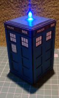 Tardis by DartRabbit