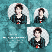 MICHAEL CLIFFORD  PNG Pack #1 by LoveEm08