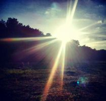 Lens Flare. by mathyrawr
