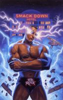 THE ROCK WWF by TheRocksays678