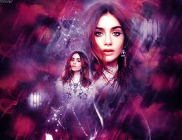 Lily Collins by KatherinePierce17