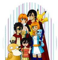 001 Introduction Pokeshipping Family by CosmicTao