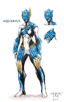 Aquarius Warframe by Artsylum