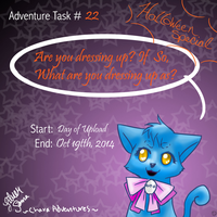 Task-22 Halloween Dress up by Angelgurl3