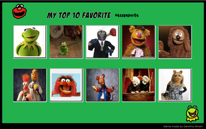 My Top 10 Favorite Muppets by KessieLou