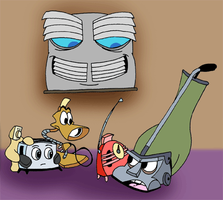 The Brave Little Toaster by Duckboy