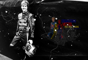 Seb Vettel 2011 Wallpaper by randomflowers