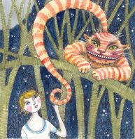 cheshire cat by firejay