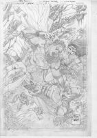 Justice League Pencils by tonysdaniel
