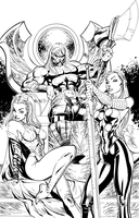 Thor - Inks by J-Skipper