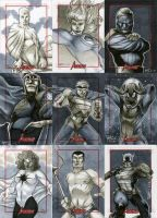 Marvel: 2012 Greatest Heroes Sketch Cards 10 by RichardCox