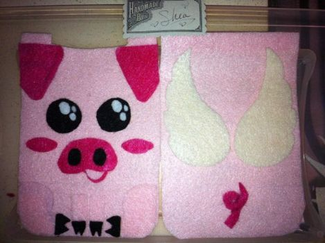 Pig Cellphone cover by wishididntwakeup