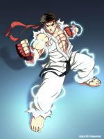 Street Fighter- Ryu Power by firewind1