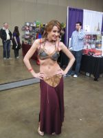 Slave Leia by calkat38