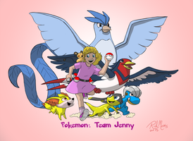 Pokemon: Team Jenny by Gorpo