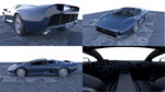 Latest WIP : Jaguar XJ220 3D by pierre-allard