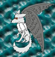 Winged Wolf by Spiritdragonfire10