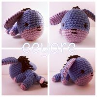 commissioned: Eeyore Plush by jennybeartm