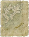 Thendrais map by SirInkman
