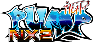 Logotipo Pump It Up NX2 by nakoruru666