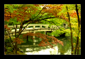 Eikan-do Bridge lll by rikachu426