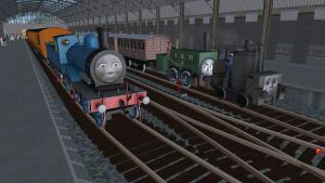 The Early Days of the North Western Railway by Sergeant-Sunflower