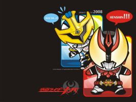 Kamen Rider Kiva by dr4g0nw1ngs