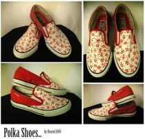 Polka Shoes by reavel